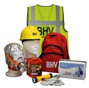 BHV uitrusting in rugtas